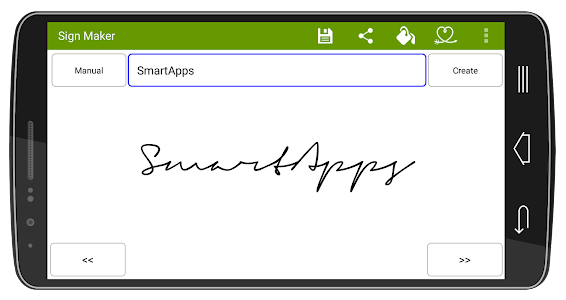Signature Maker Real screenshot 6