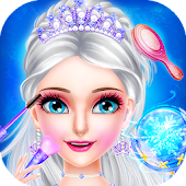Ice Queen Super Make up