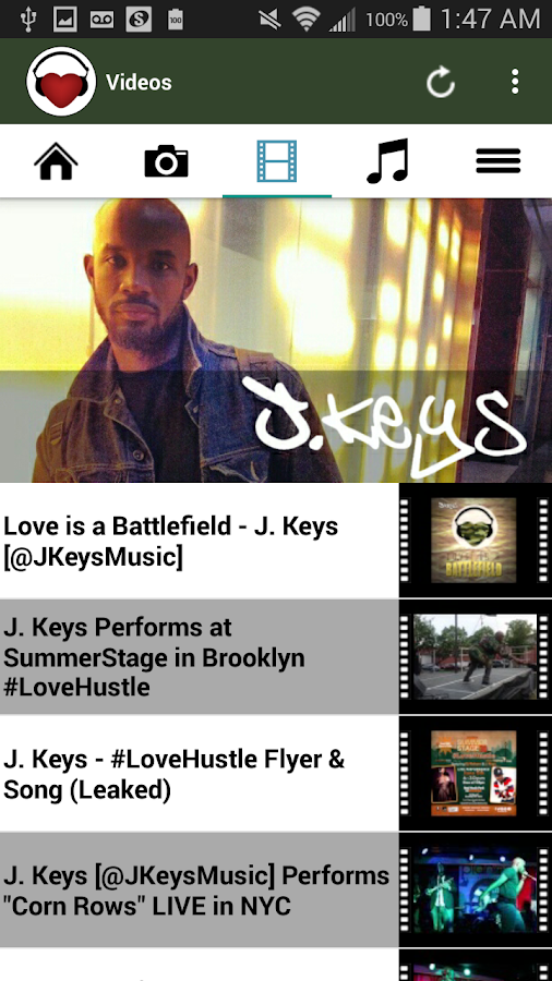 J. Keys- screenshot