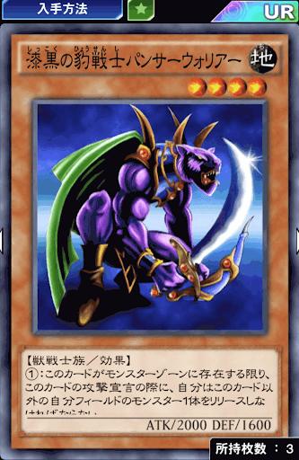 漆黒の豹戦士パンサーウォリアー