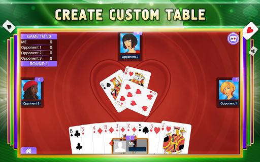 Hearts Card Game Offline