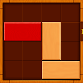 Unblock Wood Bar Puzzle icon