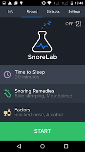 SnoreLab : Record Your Snoring Screenshot