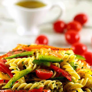 Cold Pasta Salad With Italian Dressing Recipes.
