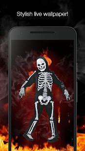 Dancing skeleton live wallpaper - náhled