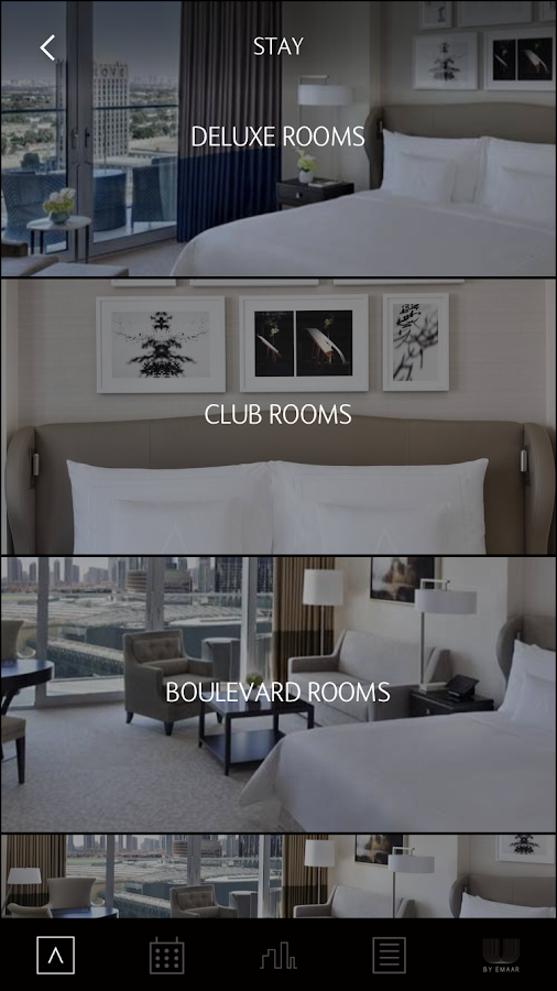 Address Hotel + Resorts Booking App- screenshot