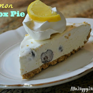 Lemon Icebox Pie (aka Lemonade Pie).