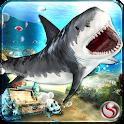 Shark Revenge Attack Sim 3d icon