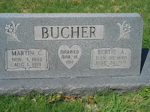 Photo: Bucher, Martin C. and Bertie A.