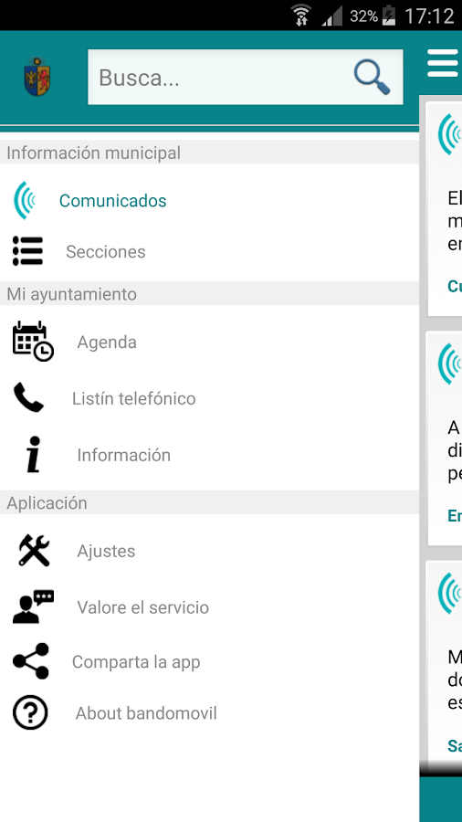 Ezcabarte Informa- screenshot