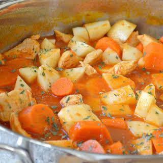 Hearty Chicken Stew.