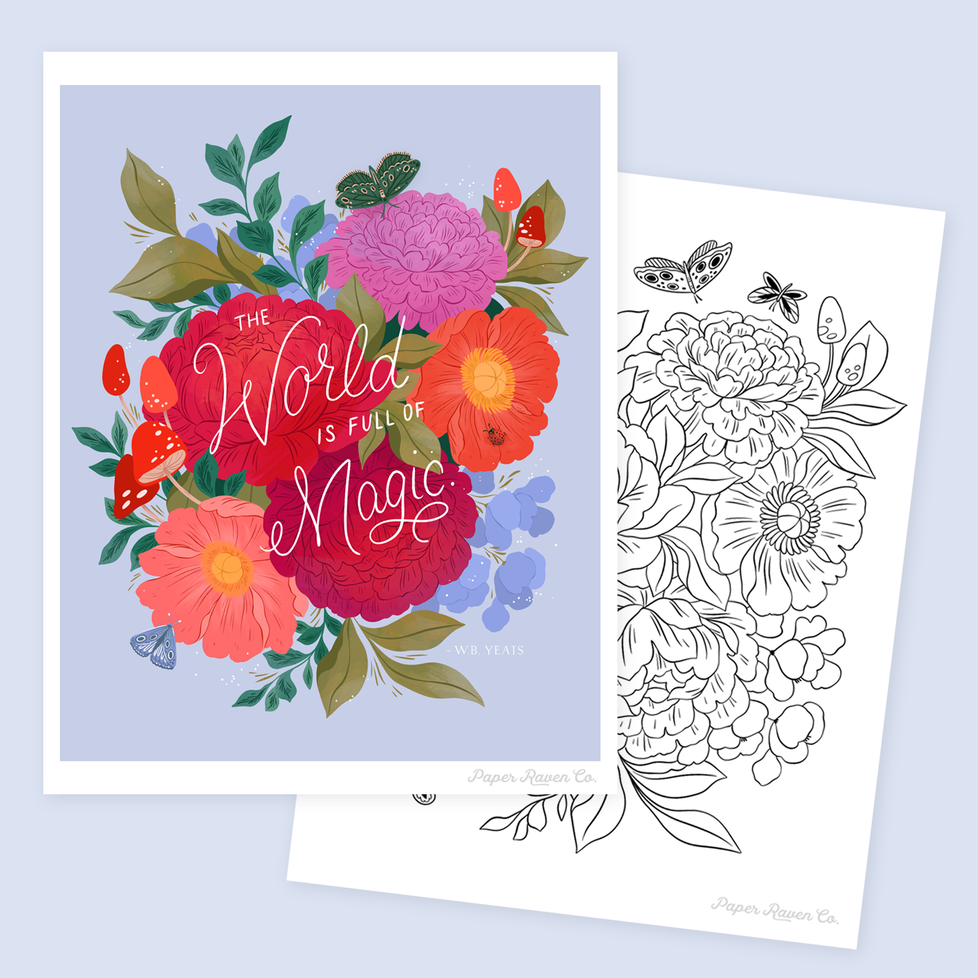 Earth Day 2020 Printables by Paper Raven Co.  #earthday2020 #climateactionnow #savetheplanet