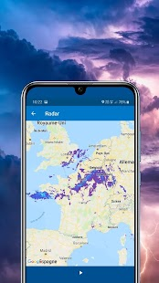 METEO FRANCE Capture d'écran