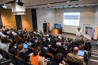 Photo: Prof Steve Jane opening the symposium