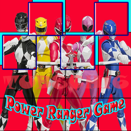 Ninja Rangers Photo Puzzle Games (game)
