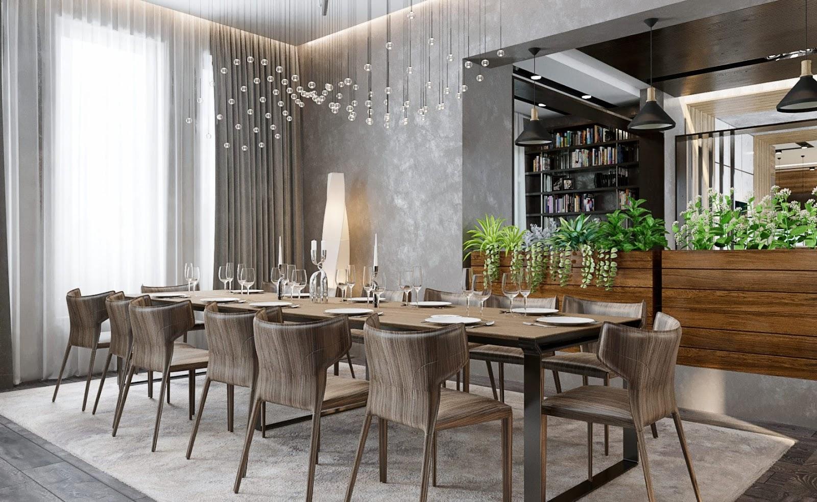 nội thất theo xu hướng cho phòng ăn