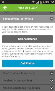 InsureMyTrip screenshot