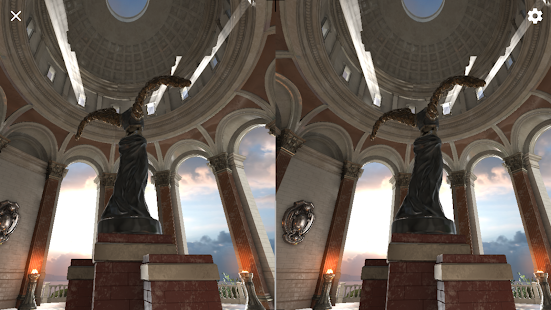 "UE4.14.1 Daydream ""Sun Temple"" (Unreleased)- screenshot thumbnail"