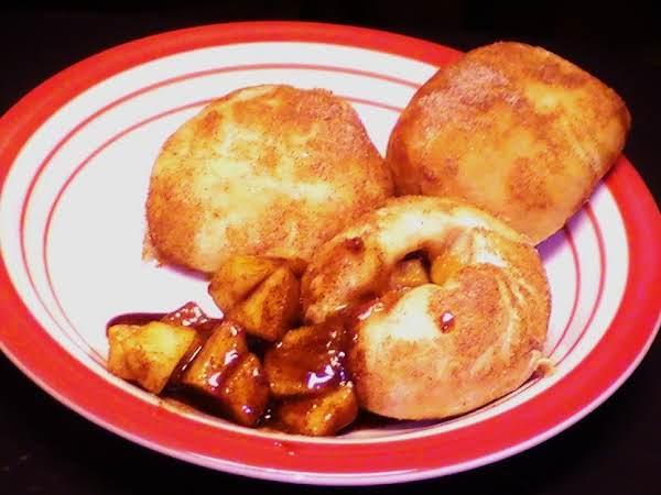 Caramel Apple Pie Bombs Recipe