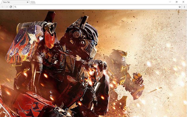 Transformers Themes - New Tab