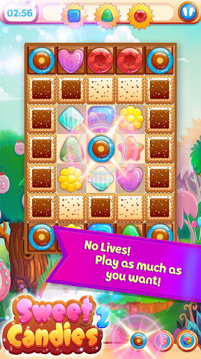 Sweet Candies 2 - Cookie Crush Candy Match 3  screenshots 2