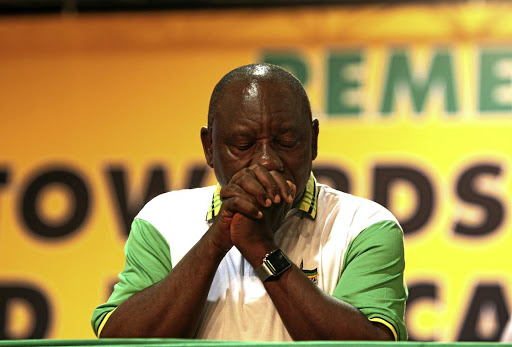 Cyril Ramaphosa. File photo.