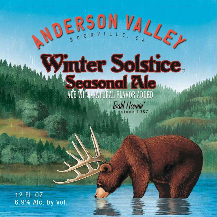 Logo of Anderson Valley Winter Solstice