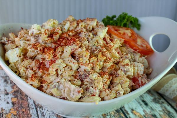 Chicken And Bacon Macaroni Salad Recipe