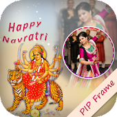 GUJJU Navratri Photo Frame