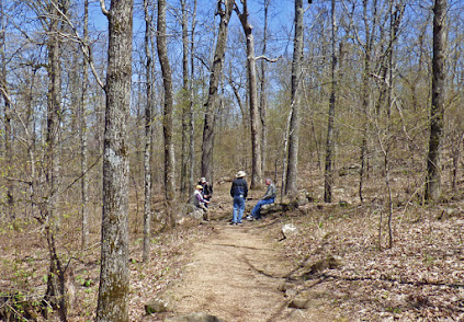 Signal Hill Trail, Highest Point in Arkansas