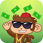 Swaggy Monkey Sticker for Messenger Icon