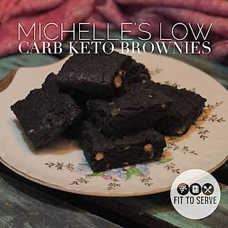 My Michelle's Low Carb Keto Brownies.