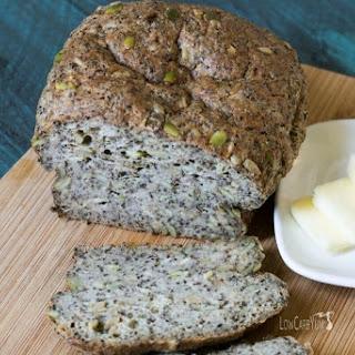 Pumpkin Sunflower Seed Psyllium Bread Recipe