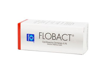 Ciprofloxacino clorhidrato Flobact Sol Oferta 0.3% x5Ml. Ophtha