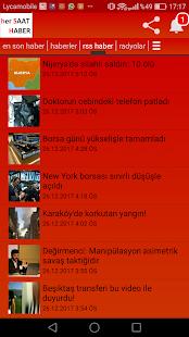 TRT rss Haber servisi - náhled