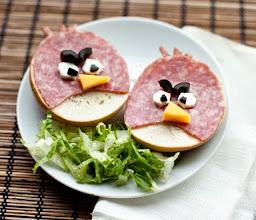 Photo: Angry birds salad