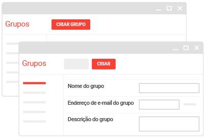 Criar um Grupo do Google para sua equipe