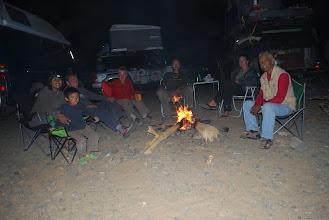Photo: První súdánsky táborák / First sudanese fire