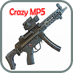 Crazy weapons (MP5) Icon