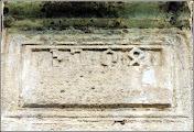 """Photo: """"Anul 1504 inscripţionat pe contrafortul de sud al corului Bisericii Reformate-Calvine din Turda Nouă. Nota bene: sunt cifre vechi. Foto: net."""" sursa Facebook, R.C. https://www.facebook.com/photo.php?fbid=1882181575428654&set=a.1461038877542928.1073741826.100009104908756&type=3&theater"""