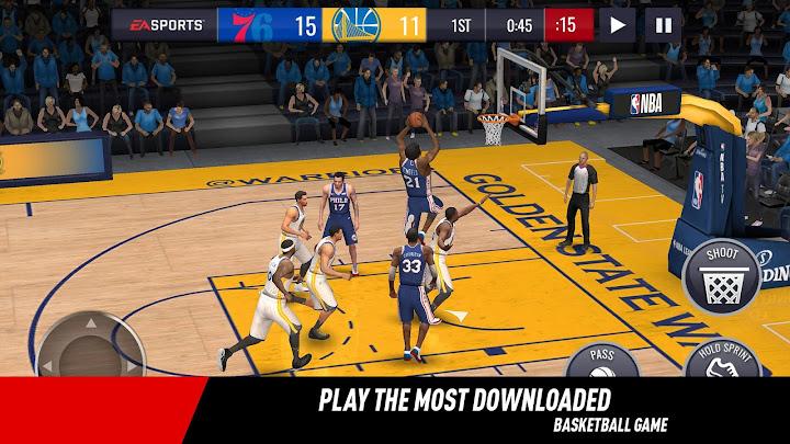 NBA LIVE Mobile Basketball Android App Screenshot