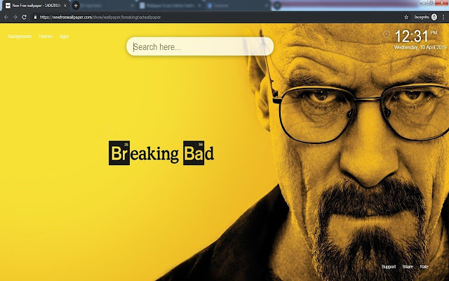Breaking Bad Backgrounds new tabs
