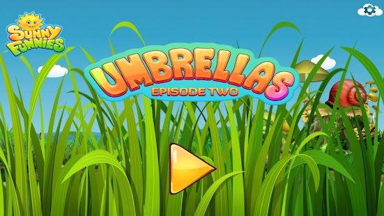 SunnyFunnies: Umbrellas – learning made fun Screenshot