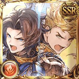 白竜の双騎士(ランスロット&ヴェイン)