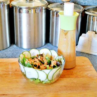 Easy Creamy Asian Salad Dressing