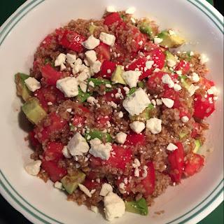 Bulgur With Tomato & Avocado