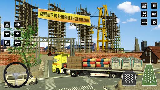 Code Triche ville construction sim: chariot u00e9lu00e9vateur camion APK MOD screenshots 5