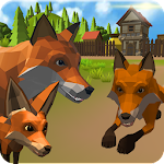 Fox Family - Animal Simulator 3d Game Icon