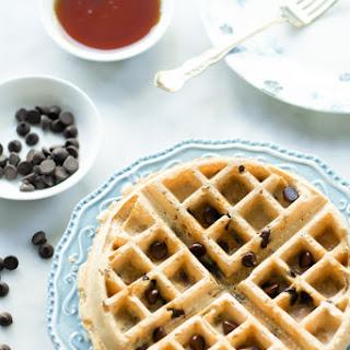 Almond Butter Waffles.