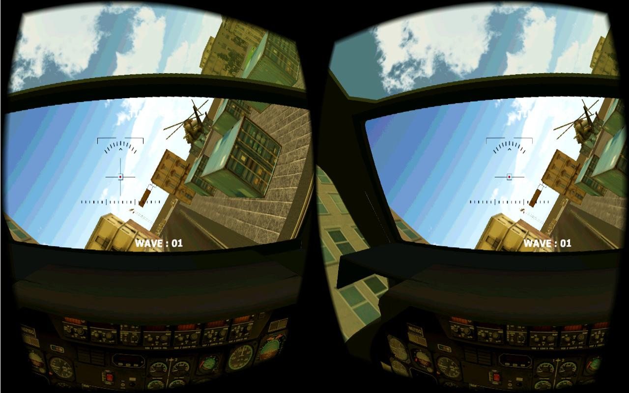 HeliCity VR- screenshot